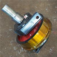 直径250-1200单双梁行车行走轮 铸钢锻件 欧式车轮组 龙门吊轨道轮 专业厂家