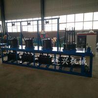 连兴金属线材拉丝机器价格 滑轮式拔丝机