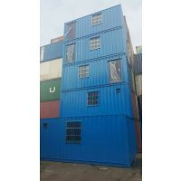 移动方便住人集装箱活动房,40英尺框架集装箱低价出售
