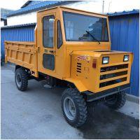 四驱毛竹专用运输车 园林搬运管理用四轮车 陇南山地耕种运输用四轮拖拉机