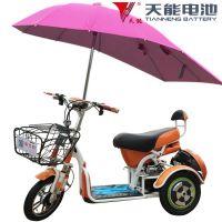 【含48V电池】女性电动三轮车老年人代步车接孩子电瓶车可进电梯