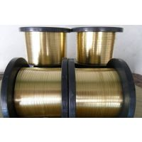 拉链H62黄铜扁线 拉链H65黄铜扁线0.9*3.18mm 0.85*3.4mm