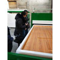 江西橱柜门两用覆膜机生产厂家林木机械多年经验值得可靠
