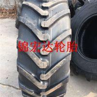厂家直销前进大行两头忙轮胎500/70R24农用轮胎19.5LR24全新耐磨