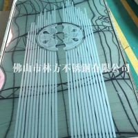 专业定制 拉丝喷砂不锈钢蚀刻板 做工精致 装饰完美厂家