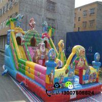 新款儿童游乐园充气城堡充气大滑梯广场景区充气乐园充气蹦蹦床