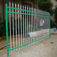 【锌钢护栏】供应热镀锌方管锌钢围墙护栏别墅小区铁艺护栏室外喷塑防盗隔离栏