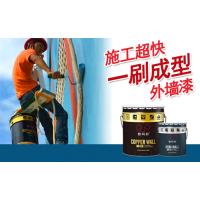 学校教室外墙改色 辽宁辽阳数码彩涂料厂家 防水抗碱外墙涂料