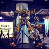 大型变形金刚 金属工艺大黄蜂 威震天 擎天柱 暖场机器人厂家直销