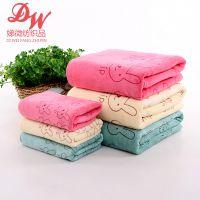 超细纤维毛巾磨毛印花400克干发巾超柔软吸水毛巾高阳原地厂家
