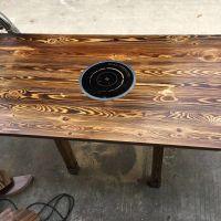 佛山实木餐桌餐椅 实木桌椅组合 纯实木餐桌椅