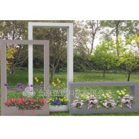 花架 铁艺花架 组合花箱 室外花箱 景观花器之时光飞逝 市政工程项目合作