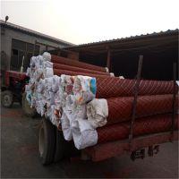 染防锈漆钢板网 红色菱形网 红色菱形钢网价格