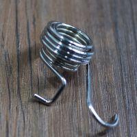 专业生产加工定制纺织机械设备用扭簧不锈钢弹簧高精密扭簧
