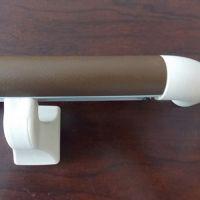 供应走廊防撞PVC38款圆扶手灰色铝材1.6mm