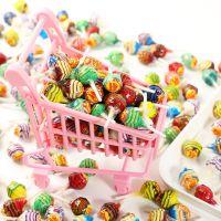 仿真经典珍宝珠棒棒糖 创意迷你DIY手工小道具挂件钥匙扣配件玩具