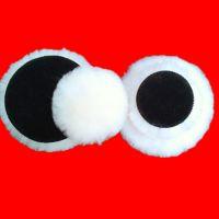 汽车美容抛光球上蜡球羊毛垫抛光羊毛球 打蜡盘抛光机型号7寸成品