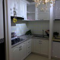 合肥定做橱柜 厨房架子 客厅柜子 置物架 实木橱柜