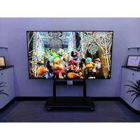 50-80寸一体机触摸屏支架 可移动式的电视架 落地式电视架 立地式电视架