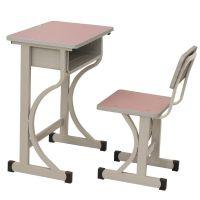 直销K073双滑道升降课桌凳 双滑道课桌椅