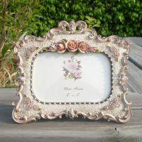 6寸复古树脂欧式相框相架像框洛可可做旧婚纱影楼照片框厂价混批