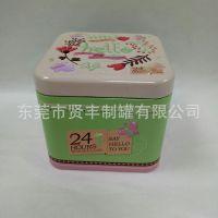 精美手工香皂盒 马口铁包装盒 植物精油皂铁盒 击凸印花 厂家定制