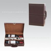 进口红酒包装盒  进口葡萄酒包装盒 进口葡萄酒皮包装盒