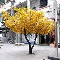 大型绿植玻璃钢塑胶仿真银杏树 酒店商业住宅区行人道装饰树 专业厂家可定制