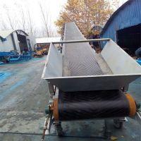 大港区组合式胶带输送机 碎石渣耐磨加厚橡胶带输送机