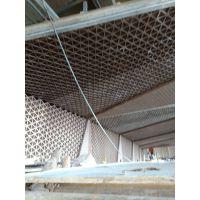 超高难度屏风铝合金材料金属制作