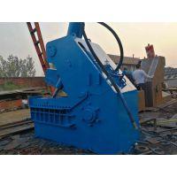 山东思路供应剪切机刀片 废品站用多大的虎头剪切机 热销500吨液压虎头切断机