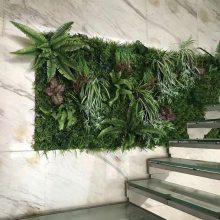仿真绿植墙-仿真植物墙-保定昊帅植物墙