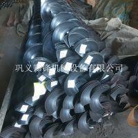 定做各种尺寸碳钢蛟龙叶片 螺旋不锈钢叶片