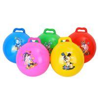 厂家直销儿童玩具充气拍拍球 宝宝小孩手柄球
