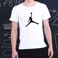 飞人男士运动装短袖潮牌篮球训练服夏季纯棉圆领学生运动上衣T恤