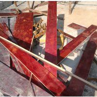 建筑模板 松桉整芯板 密实度好无空洞 中南神箭 工厂直销 易脱模