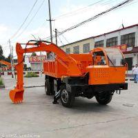 四驱四不像随车挖 品牌随车挖机 小型挖掘机 四不像随车挖掘机