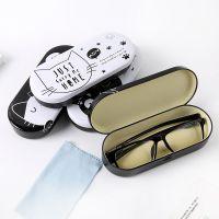 高档日韩国可爱近视眼镜盒男女学生卡通动漫小清新太阳镜墨镜盒子