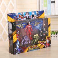 赛罗奥特超人银河超人打怪兽奥特家族英雄系列模型儿童超人公仔