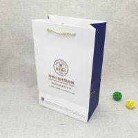 手提纸袋定做 活动促销广告纸袋 企业房产医院展会礼品包装纸袋