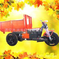 室内施工专用工程车 -拓锐小型自卸运输车-建筑工地施工专用车