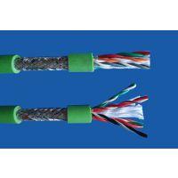 栗腾供应高度柔性单护套双绞屏蔽数据拖链电缆