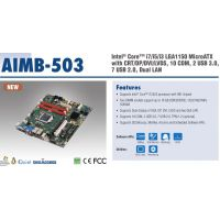 Intel ® Core™ i7/i5/i3 LGA1150 MicroATX with CRT/D
