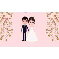 婚礼mg动画制作