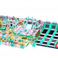 厂家直销定制定做新型儿童乐园淘气堡蹦床