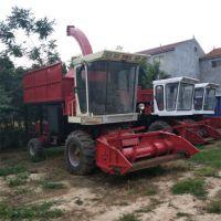 全自动青储玉米秸粉碎回收机 多功能皇竹草收割粉碎回收一体机