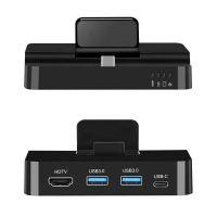 新款Type-C多功能扩展坞 hub转HDMI+USB3.0+PD+SD/TF六合一转换器