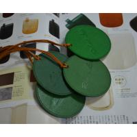 工厂定制新款中国风圆形十字纹牛皮行李牌时尚创意旅行箱吊牌自订名字