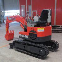 专业生产18橡胶履带式挖掘机 农村改造挖掘机