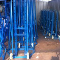 工宝 多孔液压放线架、大型液压3、5、8吨机械放线架